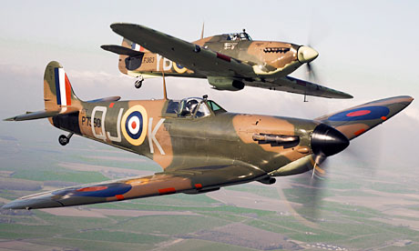 Town scrambles RAF to hunt down 'evil, abusive para-glider'
