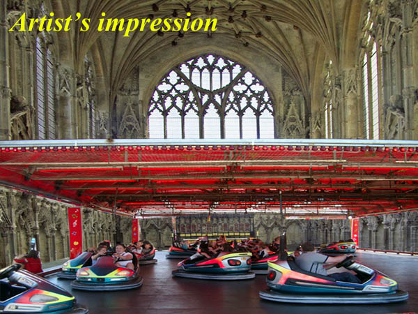 Ely cathedral to install fairground rides to 'make worship more fun'
