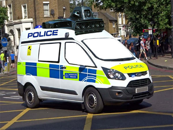Spoofflé sees top secret UK plans for driverless police cars