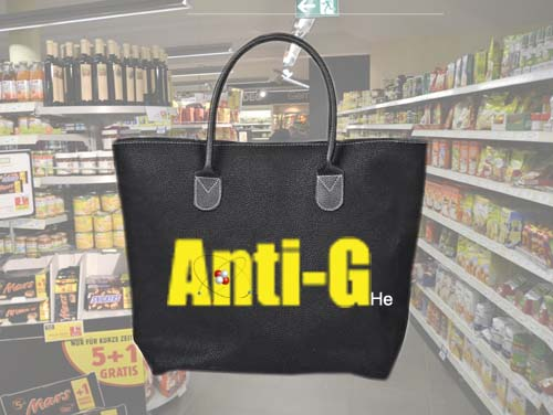 New Helium-filled bags will lighten shoppers' loads