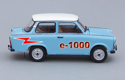 New Trabant e-car runs on AA batteries