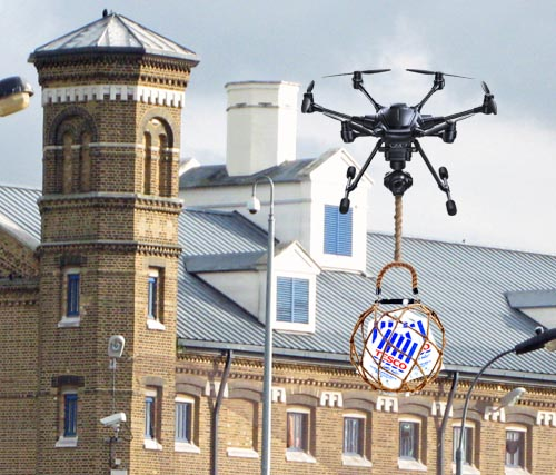 Prisoner cancels Tesco account after third late drone delivery