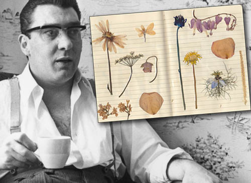 Ronnie Kray's pressed flower collection fetches £14,000 at auction