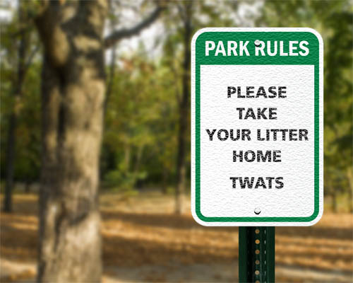 Tunbrige Wells council apologises for sign