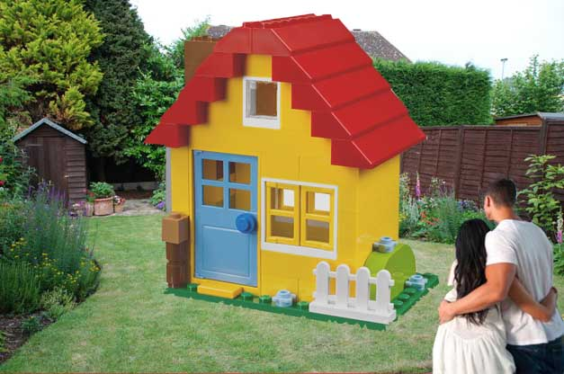 Lego launches UK starter-home kit for £9,975