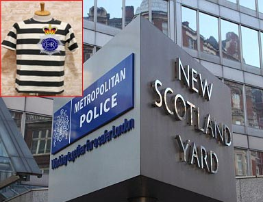 Met Police to sell branded clothes and useful security accessories