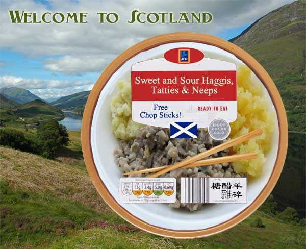 Aldi launches Oriental-themed dishes to lure Chinese tourists to Scotland