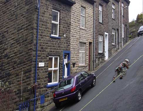 Lancashire village claims the world's steepest street