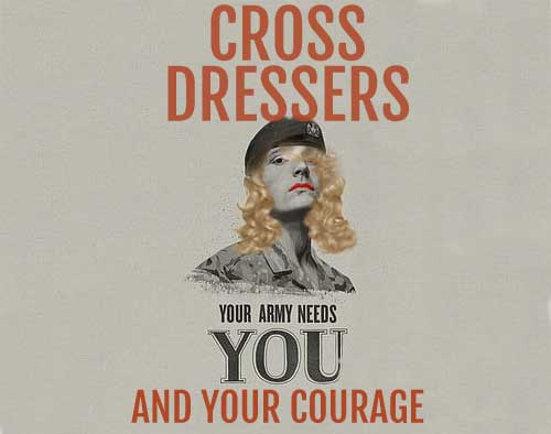 Army recruitment ad targets millennial 'cross-dressers' for undercover roles