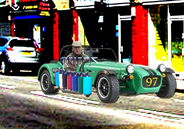 Caterham Cars Ltd announce a new model for mature drivers