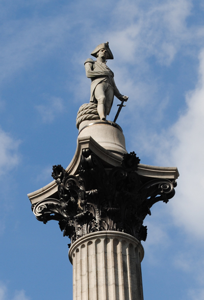 Secret plan to store Nelson's column in the event of Brexit no-deal