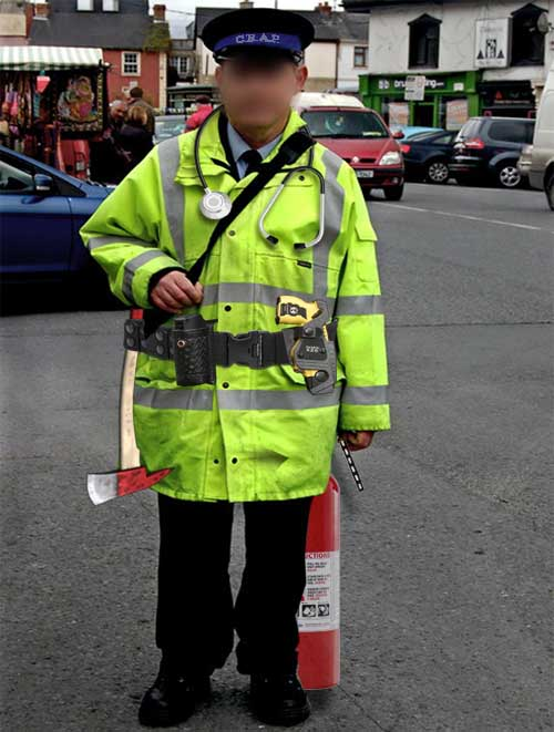 Traffic wardens given role of police, fire service, paramedics and vets in remote areas