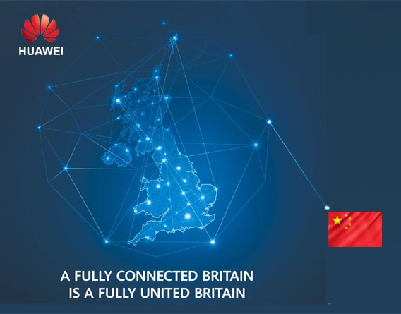 Huawei UK – we are all connected