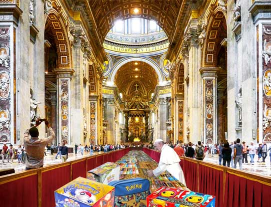 Pope sells Pokemon collection for record £13 million at Sotheby's