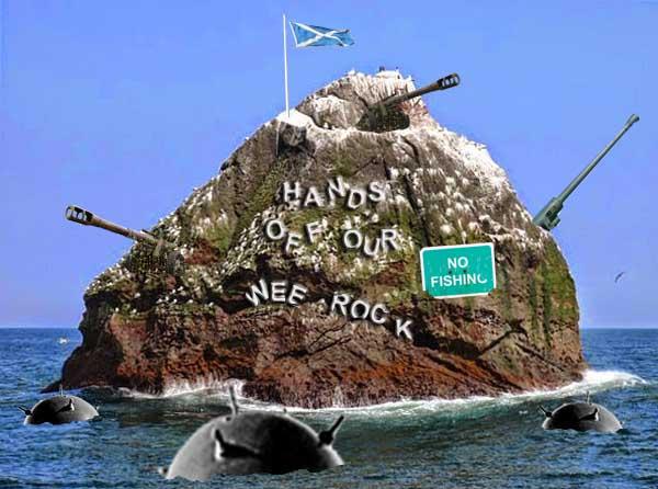 Scotland prepares to defend Rockall against illegal Irish fishing