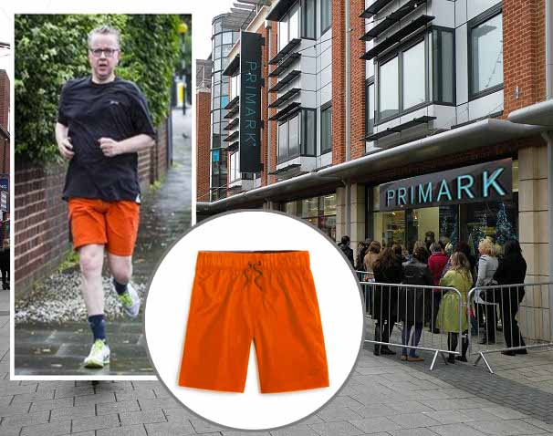 Frustration as Primark sells out of Michael Gove's £3 shorts