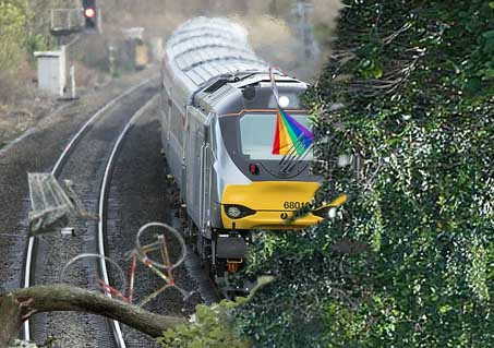 AI system predicts where leaves will fall onto tracks
