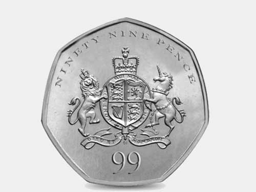 New 99p coin 'makes 1p coin completely redundant'