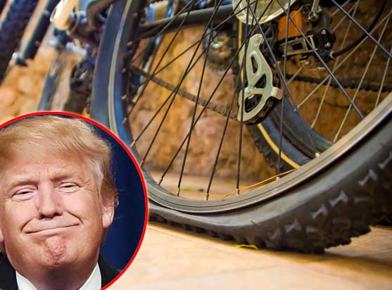 "Trump told Secret Service: ""let down British Ambassador's bike tyres"""