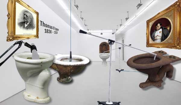 Artist unveils 'Toilet Orchestra' at Tate Modern