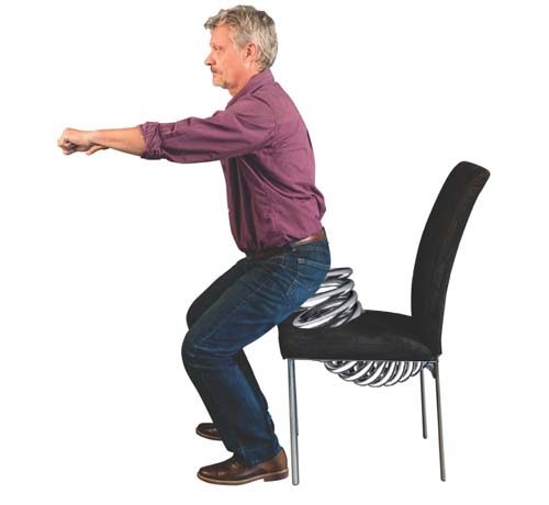 New office chair takes the effort out of standing up