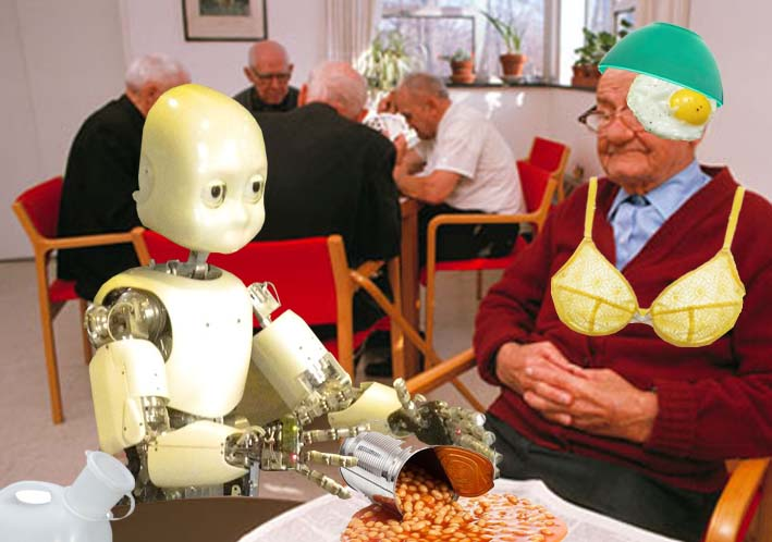 Care Home robot recalled for 'minor adjustments'
