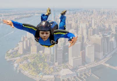 Greta Thunberg fired safely across Atlantic from giant catapult