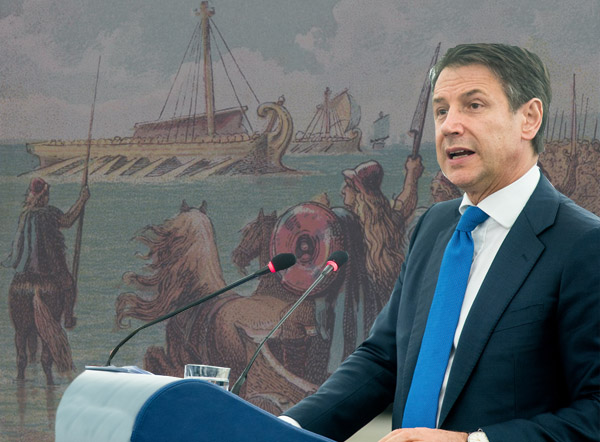 Italy apologises for Roman invasion of Britain in 54BC