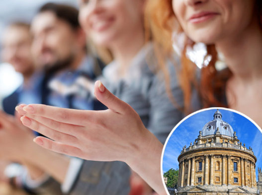 University forced to allow one-handed clapping after student revolt against 'jazz hands'