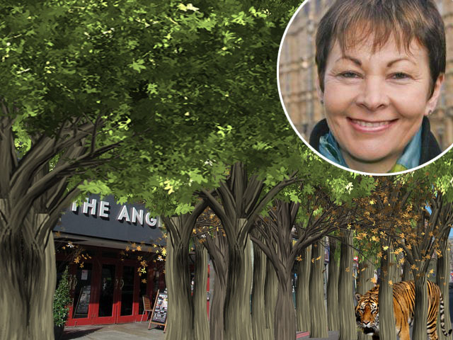 Election latest: Green Party pledges 1 Trillion trees by 2021