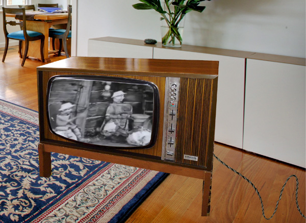 £8 TV bought on eBay still receives 1950s programmes