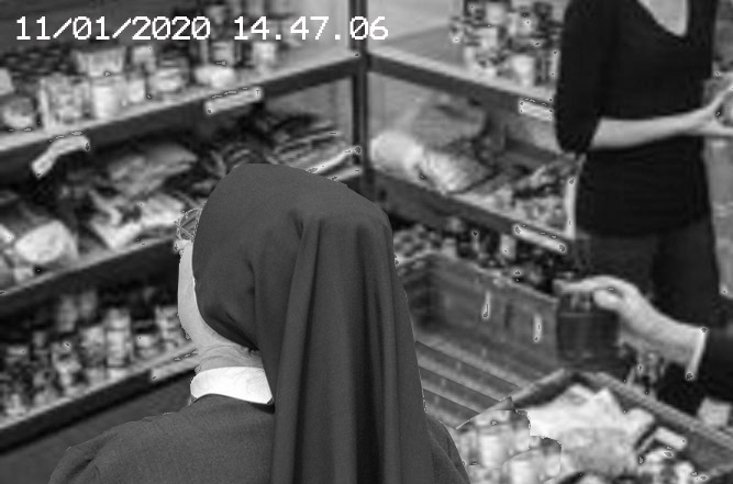 Nuns held after food bank robbery
