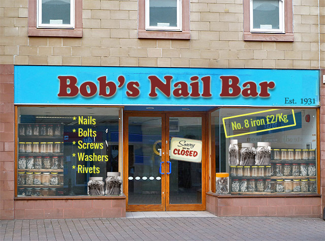 Nail bar 'still has no idea why it had to shut'