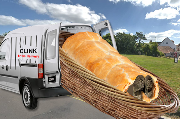 Escaped prisoner found in six foot sausage roll