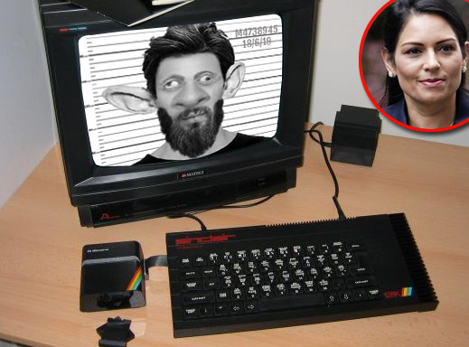 Priti Patel admits: '150,000 police records were stored on a Sinclair Spectrum'